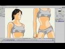 Как рисовать в Аnime Studio Pro 11 (Moho Pro). Как создавать тени, закрашивать формы и шейпы