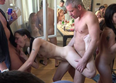 Czech Home Orgy 10 - Part 2