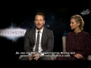 Интервью Дженнифер и Криса для «Ode» | 2016 год (русские субтитры)