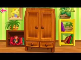Развивающие мультфильмы. Мультики для самых маленьких от 1 года. Кто спрятался в шкафчике #мультик