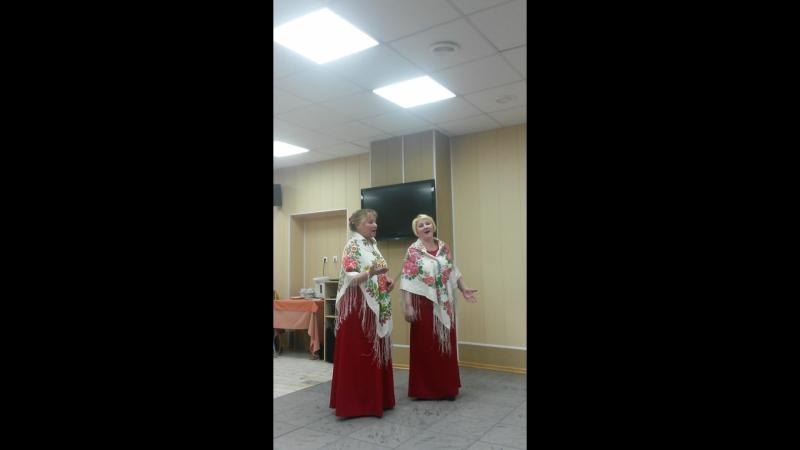 Дуэт Нина Яблонская и Алена Смирнова