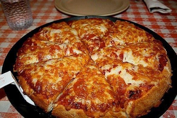 Рецепт пиццы в сковороде на майонезе