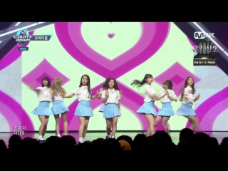 """· perfomance · 160505 · oh my girl - """"one step two step"""" · mnet """"m!countdown"""" ·"""