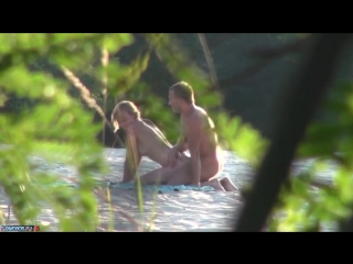 скрытая камера на пляже порно