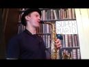 Anton Suhonos Sax - Super Mario Brothers Theme