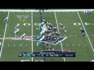 Every Jacoby Brissett Throw  Run (Week 2)   Dolphins vs Patriots