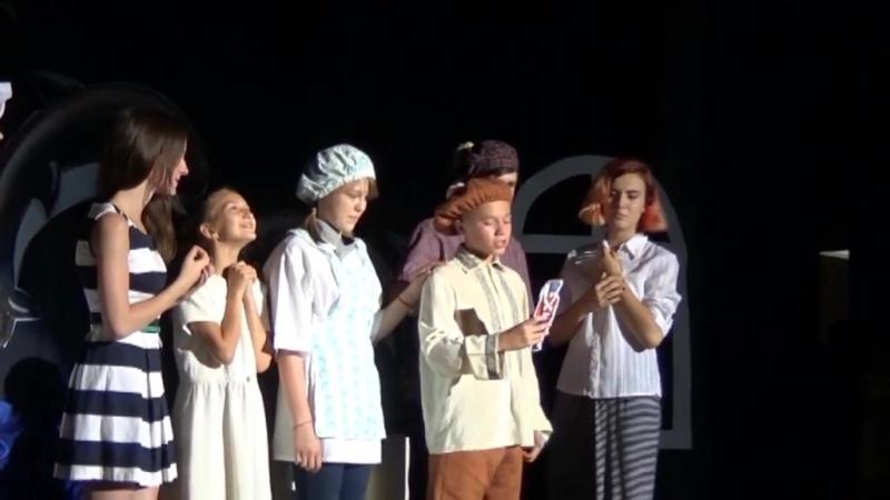 История любви оловянного солдатика - финальный спектакль театральной смены Два берега, 2016