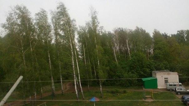 Ураган оставил Чистополь без электричества и воды