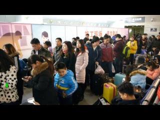 Великая китайская миграция, или проверка на прочность общественного транспорта