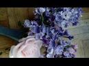 Мастер Класс Холодный Фарфор Сирень цветочки и их сборка МК от Риты. Lilac tutoreal by Rita