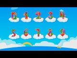 Мультики для детей про цифры - Веселая арифметика - Мультфильм про математику для детей