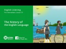 Learn English Listening | Pre Intermediate - Lesson 10. The History of the English Language