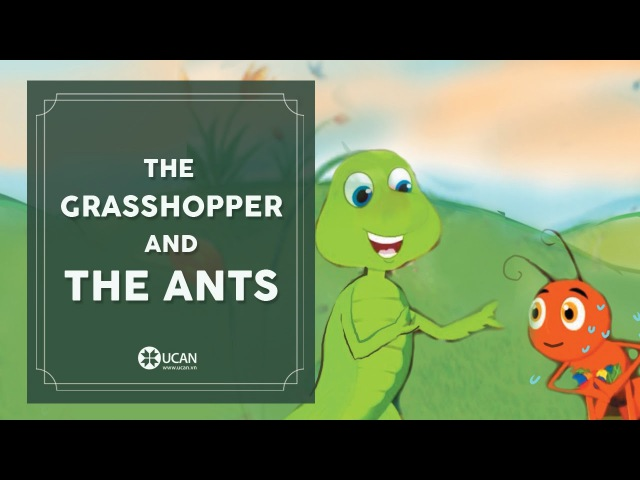 Learn English Listening | English Stories - 1. The grasshoper and the ants