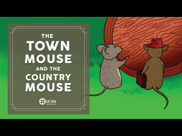 Learn English Listening English Stories 11 The town mouse and the country mouse