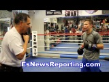 Champ Who Sparrs GGG Heavyweights Explains Who Golovkin Hits Harder!