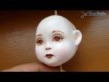 авторская кукла, мастер класс, роспись - Dolls, a master class, painting