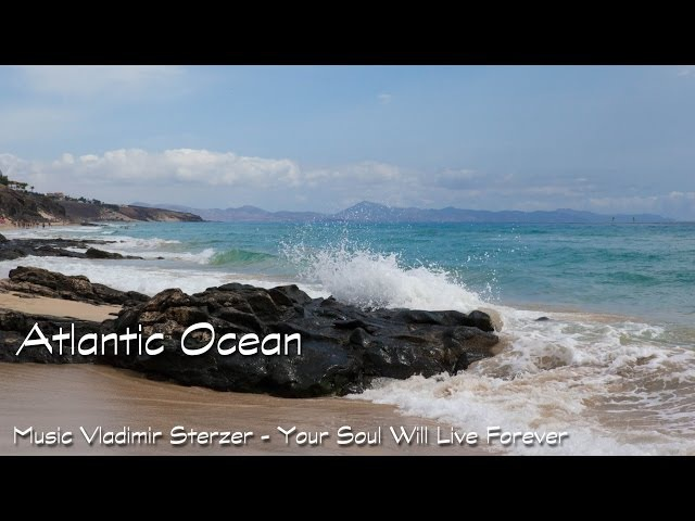 Atlantic Ocean. Fuerteventura. Beautiful views. Vladimir Sterzer