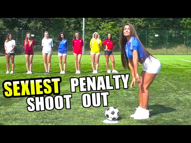 SEXIEST PENALTY SHOOT OUT EVER! | Euro 2016 | ft. F2Freestylers ComedyShortsGamer