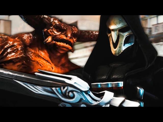 Overwatch - Неэкономный Жнец (Анимация) | Reaper is Wasteful (Animation) (Русский Дубляж)