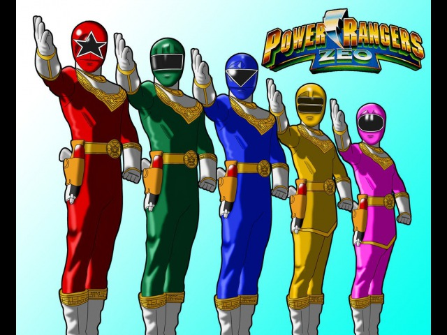 Power Rangers Zeo Пауэр Рейнджерс или Могучие Боевые Рейнджеры Зео (часть 5)