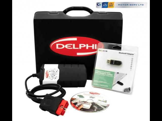Tester Diagnostyczny Delphi DS150E New VCI 2013.3 - diagnostyka komputerowa