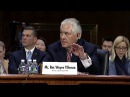 Senator Markey Questions Rex Tillerson on Nuclear Weapons, Global Health, Fentanyl - 1/11/17