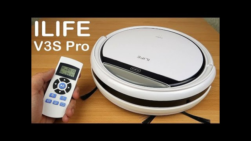 Робот пылесос ILIFE V3S Pro Самый полный обзор и тесты