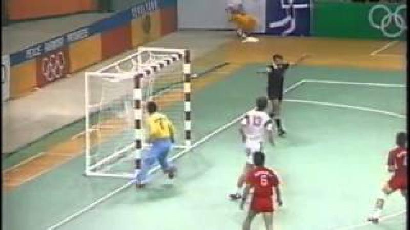 Олимпийские игры 1988, Сеул, гандбол (handball), СССР-Южная Корея, 32-25
