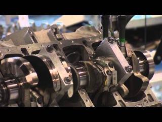 Завод AMG. Сборка двигателя m157 для S63 AMG.