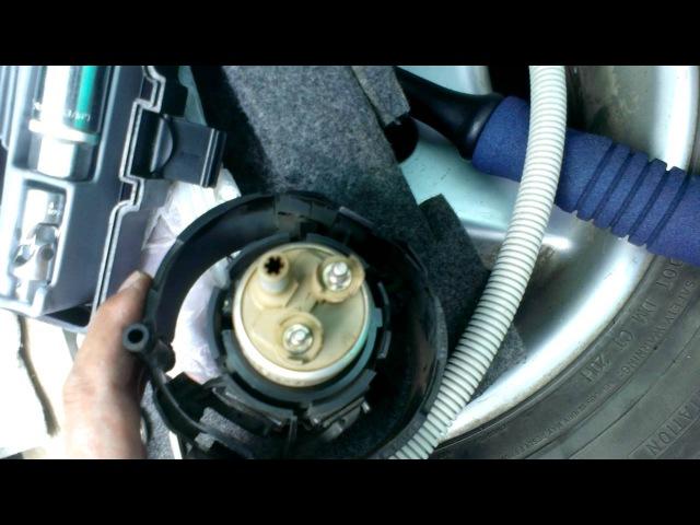 БМВ Е34 Замена бензонасоса элекртрического BMW E34