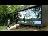 Vipp Shelter tiny prefab as precise industrial-era appliance