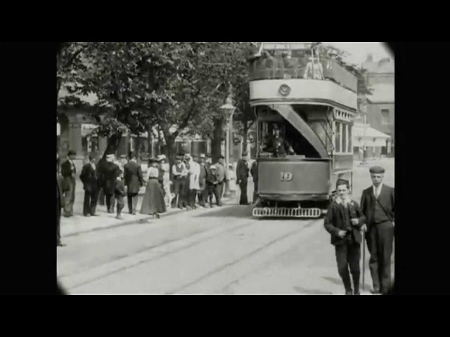May 28 1903 Tour along the new electric tram in Lytham England with added sound
