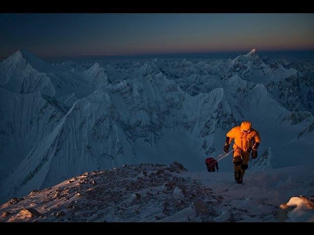Первое зимнее восхождение на Гашербрум II (8035 м) [Горы (альпинизм, скалолазание)]