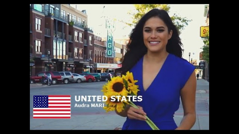 UNITED STATES - Audra MARI - Contestant Introduction: Miss World 2016