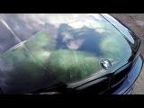 Печать рисунка на пленке и нанесение на капот BMW e46