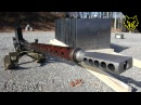 20mm Anti Tank Lahti vs 16 Steel Plates slow motion l39