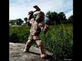 резьба по дереву. скульптура мужик с топором.часть 2 Wood carving