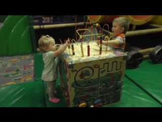 ✿ VLOG ИГРОЛЕНД Indoor Playground Family Fun for Kids Indoor Playroom with Balls