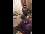 Репетиция пародии Галустяна на Кадырова для КВН