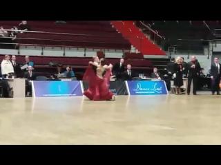 Дима и Алена. Танго.
