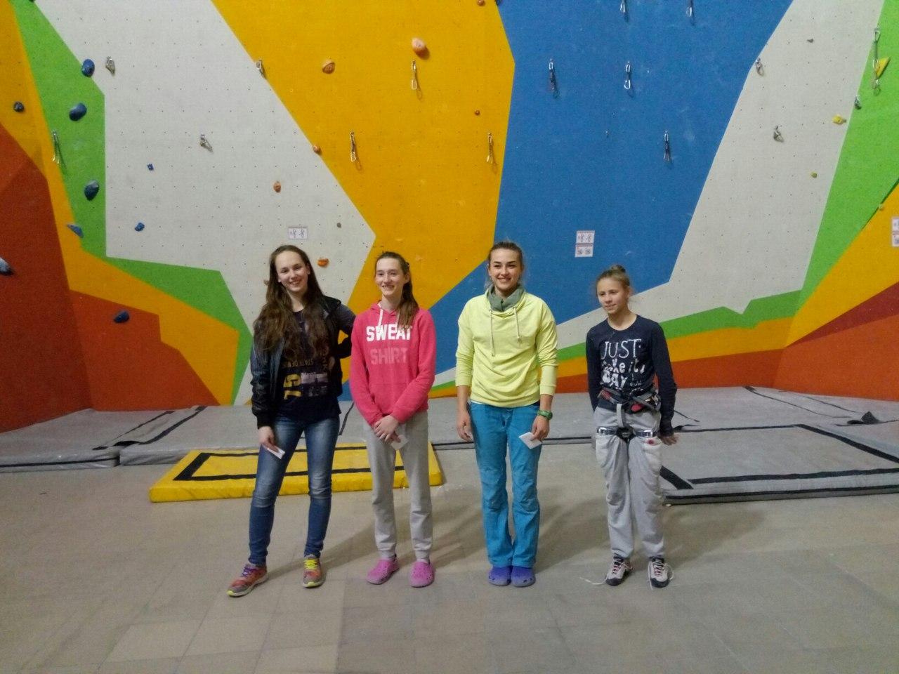 Победители этапа кубка Украины в сложности 2017