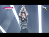 [Produce 101] 1_1 EyecontactㅣLee Yoon Seo - ♬SAY MY NAME @ Position Eval.(DANCE) EP.07 20160304