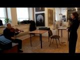 Мастер-класс З.Д.Носкова 27.04.17 перед концертом в Союзе художников