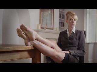 Превосходные ножки строгой начальницы [foot fetish, feet, femdom, фут фетиш, зрелая]
