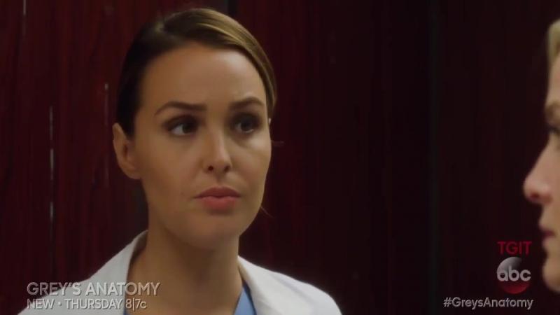 Промо Анатомия страсти (Grey's Anatomy) 13 сезон 10 серия