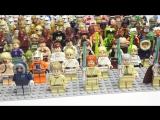 Лего Звёздные войны минифигурки. Моя коллекция LEGO Star Wars светлая сторона