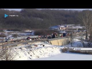 Движение на мосту через Рпень снова ограничили, но теперь с другой стороны