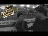 Катя Самбука и Джексон развлекаются на скользком льду - ВЛОГ