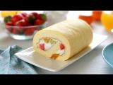 How to make Japanese fruit roll cake (recipe) - C