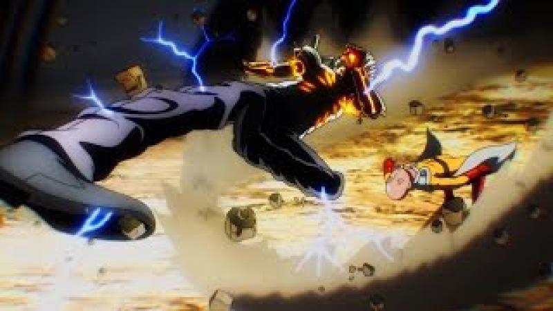 AMV One Punch Man Full Battles, all battles/ Ванпанчмен все битвы